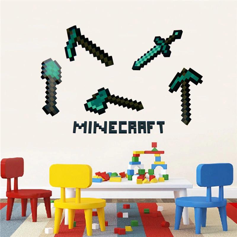 Minecraft Wandaufkleber