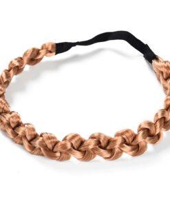 Zopf Haarband geflochtenes Haar