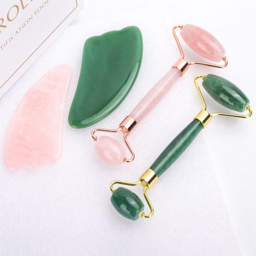 Massageroller aus Jade Stein