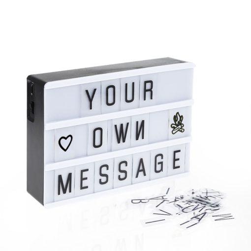 Lightbox Buchstabenkasten Deko