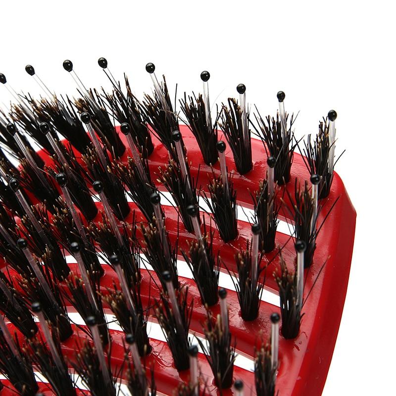 Kopfhaut Massagebürste Rot