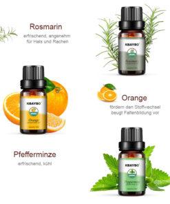 Ätherische Öle für Luftbefeuchter Wirkung