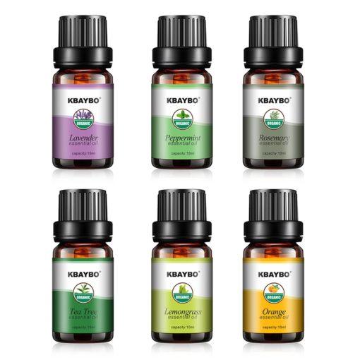 Set Ätherische Öle für Luftbefeuchter