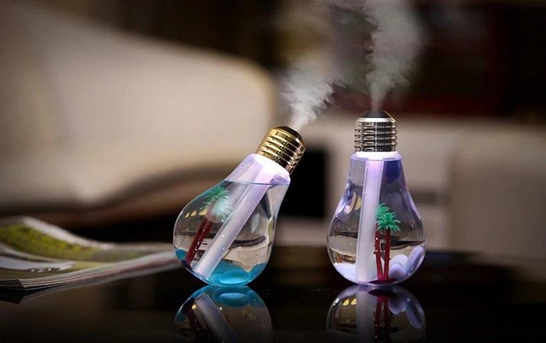 Glühbirne LED Luftbefeuchter Deko Schweiz