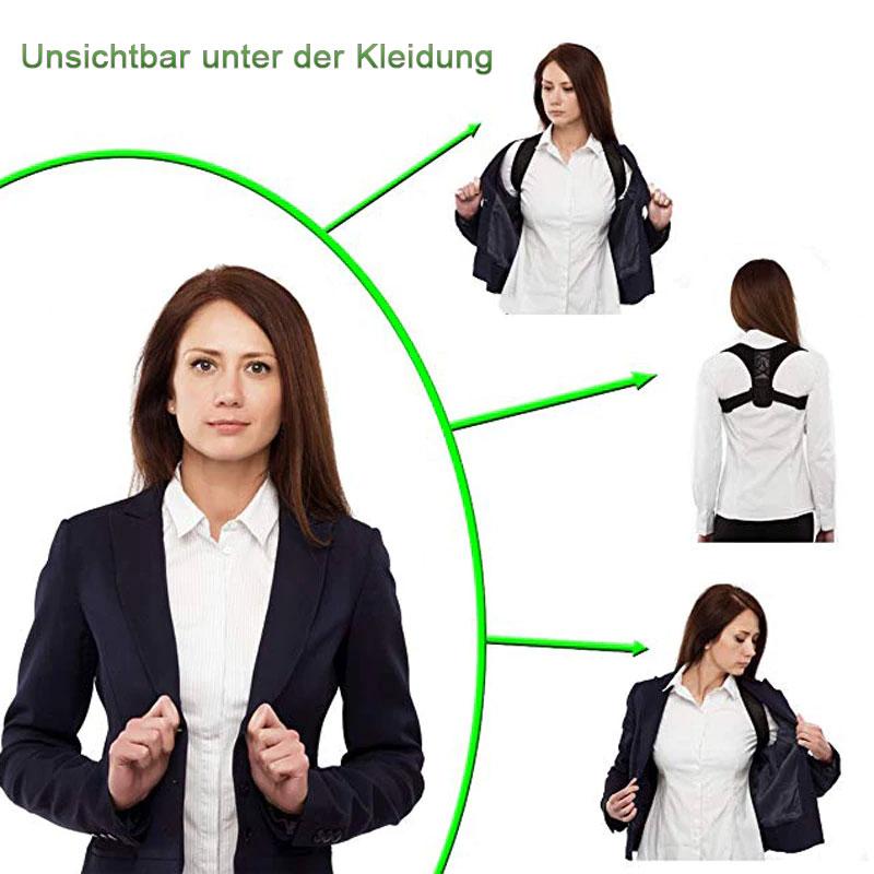 Geradehalter Rückentrainer Tshirt