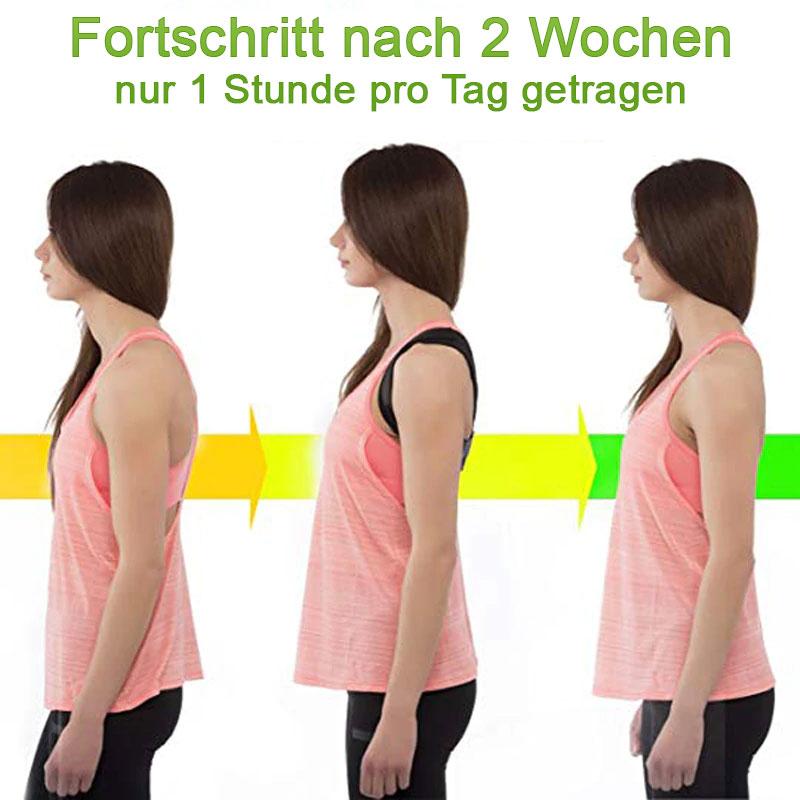 Geradehalter Rückentrainer Tshirt Schweiz