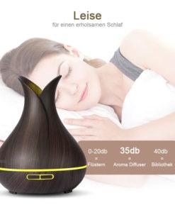leiser Luftbefeuchter mit LED Schweiz