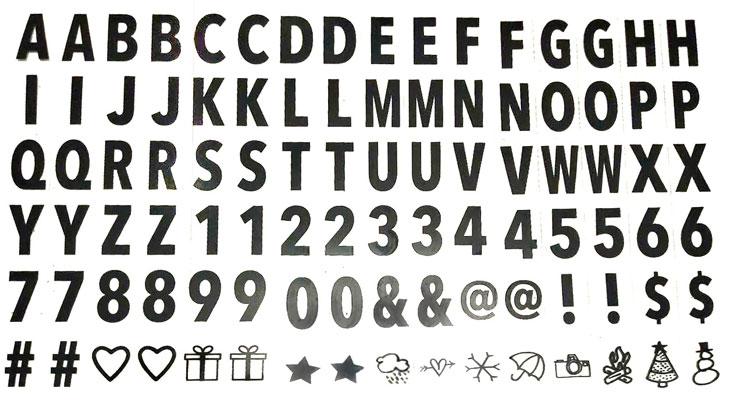 light box buchstaben box mit Buchstaben schweiz