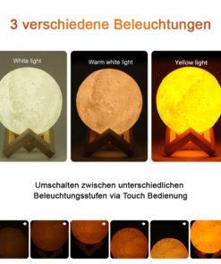 Luftbefeuchter Mond Lampe Schweiz