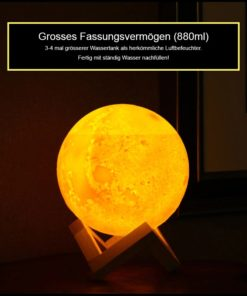 Mond Verdampfer Lampe