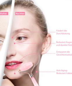 Echter Jade Stein Roller Gesichtsmassage Schweiz