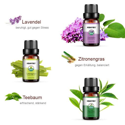 Wirkung Ätherischer Öle Aromatherapie