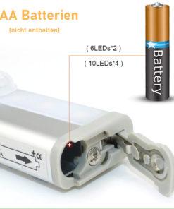 LED Leiste mit Bewegungssensor ohne Kabel