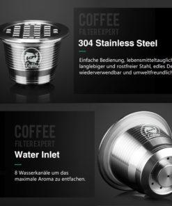 Wiederverwendbare Nespresso Kapseln