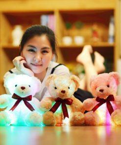 Leuchtender Teddy Bär mit Licht Schweiz