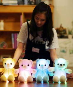 Teddybär mit eingebautem Licht