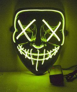 LED Purge Maske neon