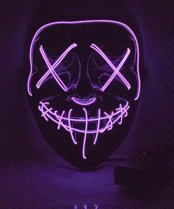 LED Purge Maske Violett