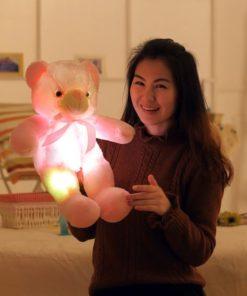 Leucht Teddy Bär mit LED Licht