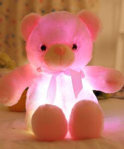 Leuchtender Plüsch Teddy Bär Schweiz