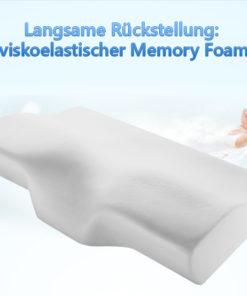 Visco Memory Schaum Kissen
