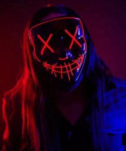 The Purge Maske LED Schweiz