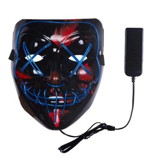 The Purge Maske mit LED Licht kaufen SChweiz