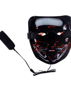 The Purge Maske mit LED Licht