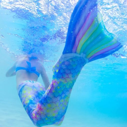 Mermaid, Meerjungfrau Flosse zum Schwimmwen