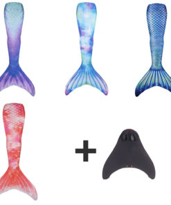 Meerjungfrauenflosse Schwimmanzug mit Monofin Schweiz