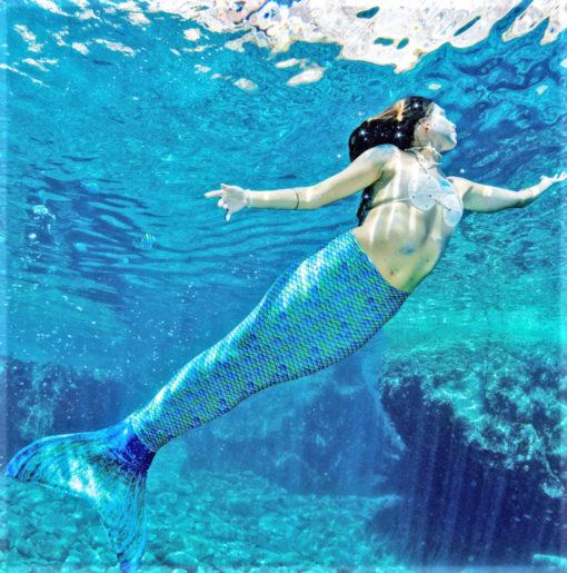 Meerjungfrau Flosse zum Schwimmwen