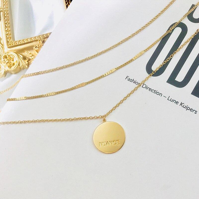 Damen Halskette Gold