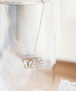 Halskette, Damenschmuck, Schmetterling Anhänger Halskette, Schweiz
