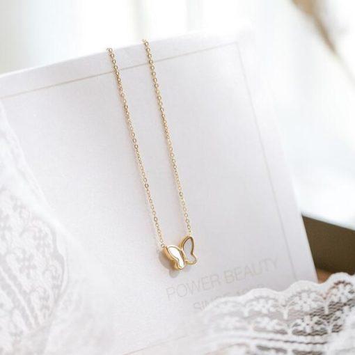 Schmetterling Halskette, Damenmode, Halskette, Schweiz