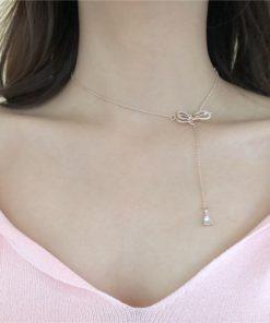 Choker Halskette, Queens Knot. Damenmode Schmuck, Schweiz