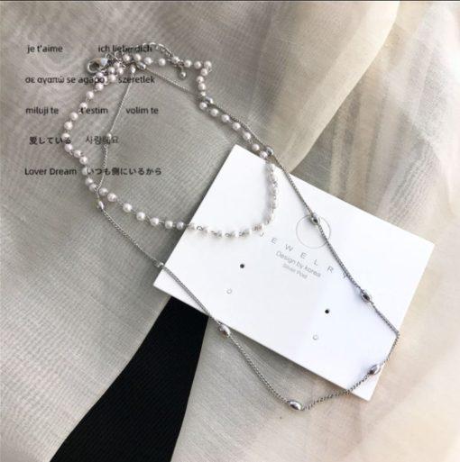 Damen Perlen-Halskette Treasure, Schweiz