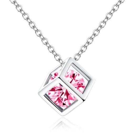 Halskette mit Zirkon, Damen Schmuck, Modeschmuck, Schmuck und Accessoire Shop Schweiz