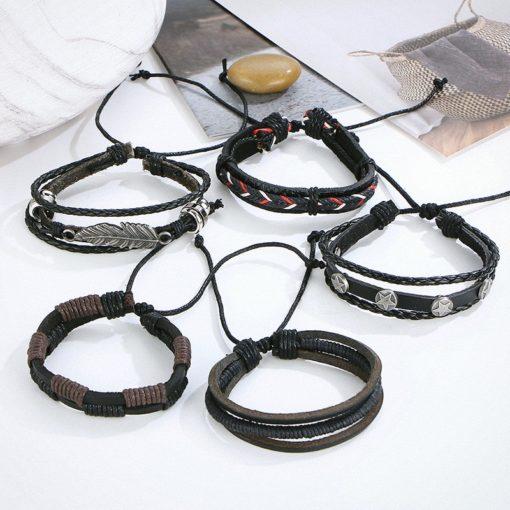 Herrenschmuck, Leder Armband, Lederarmband, Schmuckshop Schweiz