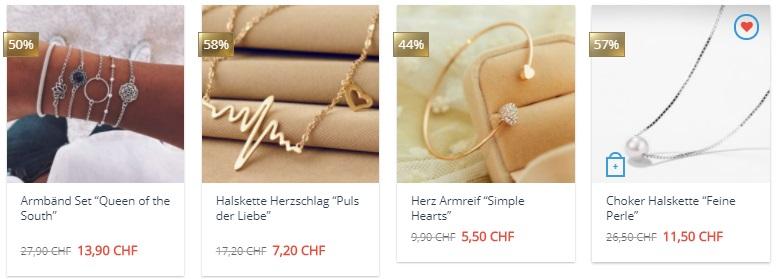 Modeschmuck Online kaufen Schweiz