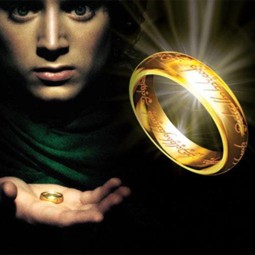 Ring aus Herr der Ringe Replika