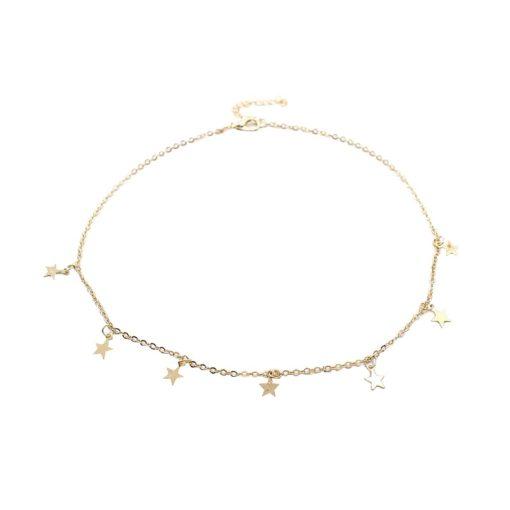 Choker Halskette Sterne