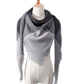 Dreieck Schal Damen Kariert