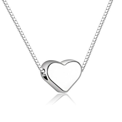 Halskette mit Herz Anhäger Sweetheart, Damenschmuck, Modeschmuck, Schweiz