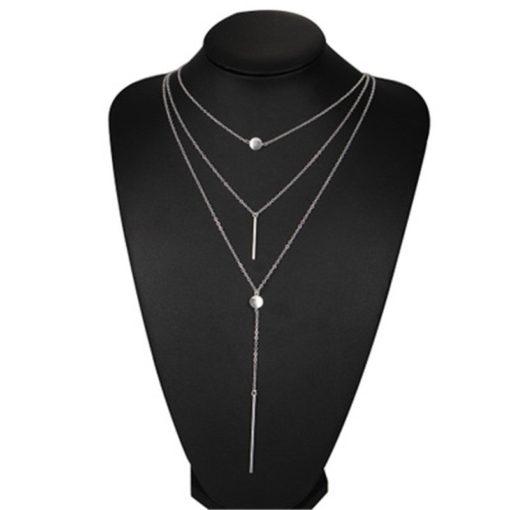 Mehrreihige Damen Halskette Schweiz