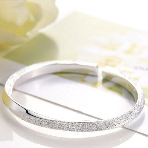 Armreif Damen Twisted Silber Schweiz kaufne