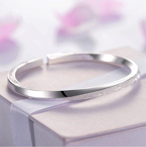 Armreif offen Damen Silber Schweiz kaufen