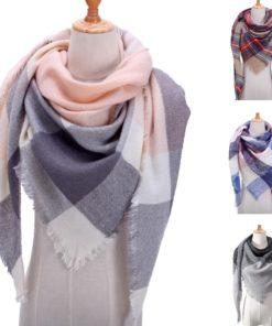 Dreieck Schal Damen Kariert Schweiz