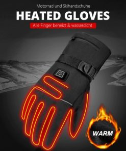 Handschuhe beheizbar, beheizte Winter Handschuhe wasserdicht, Schweiz