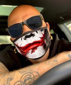 lustige Stoffmaske Joker Schweiz