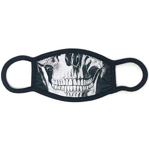 lustige Stoffmaske Totenkopf kaufen